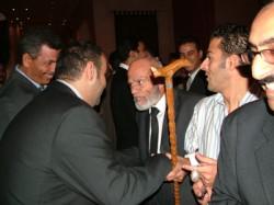 حضر الإفطار عدد من رموز الإخوان