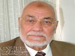 المرشد العام الأستاذ محمد مهدي عاكف