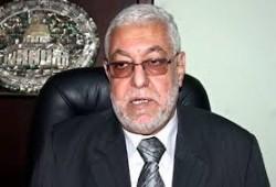 عزاء الأمين العام بوفاة والدة د. الكتاتني رئيس برلمان الثورة