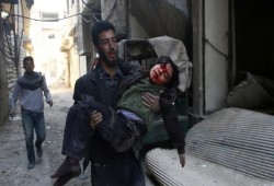 بيان من الإخوان المسلمين حول مجزرة سفاح سورية بغوطة دمشق