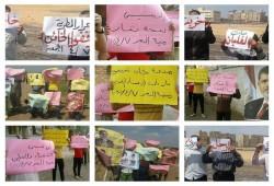 """أهالي منية النصر والمطرية: """"السيسي نسخة بشار"""""""