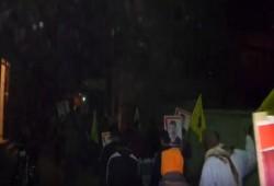 """فيديو.. مسيرة قرية الرئيس في أسبوع """"عسكر روسيا بره"""""""