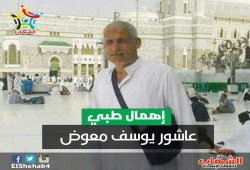 سجن برج العرب يمنع العلاج عن المعتقل عاشور يوسف