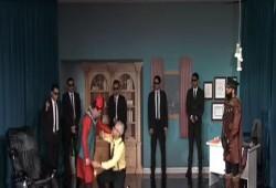 مسرحية الإمبراطور  للفنان عبدالله الشريف