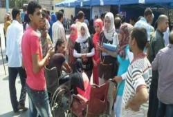 حكومة الانقلاب تجمّد معاشات ذوي الإعاقة