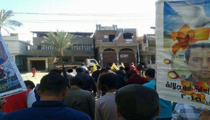 الدمايطة ينظمون فعاليات ثورية تنديدًا بالانقلاب العسكري