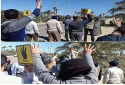 ثوار الفيوم ينتفضون للمطالبة بعودة الشرعية وكسر الانقلاب