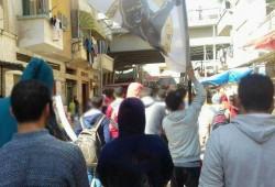 """فعاليات ثورية بالبحيرة في مستهلّ أسبوع """"سيناء تفضح خيانتكم"""""""