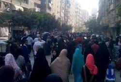 سلسلة بشرية ومسيرة لنساء نبروه رفضًا لحكم العسكر