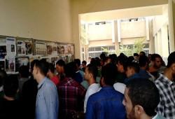 حملة بكلية الحاسبات بالمنصورة للمطالبة بالإفراج عن المعتقلين
