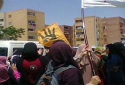 فيديو.. حرائر المنصورية يطالبن بمحاكمة القتلة والقصاص للشهداء
