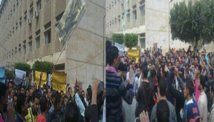 """مسيرة لطلاب أزهر طنطا رفضًا لإعدام """"سامية شنن"""""""