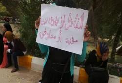 3 فراشات لطالبات أسوان رفضًا للانقلاب واعتقال زملائهن