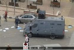 أمن الانقلاب يقتحم جامعة أزهر بنات بالقاهرة