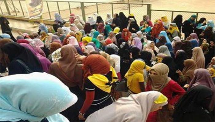فيديو.. حرائر الأزهر بالقاهرة يطالبن بإعدام القتلة