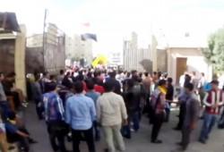 طلاب الفيوم يتصدون لاعتداء ميليشيات الانقلاب ويواصلون مسيرتهم
