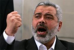 هنية: حرصنا على إنجاح حكومة التوافق ولن نسمح أن تعاني غزة