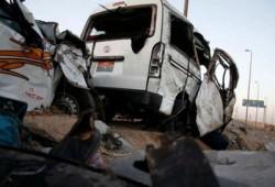 نزيف الإسفلت يقتل ويصيب 14 مواطنًا بوادي النطرون