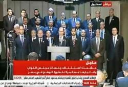 البرلمان الشرعي لمصر يستأنف جلساته في الخارج