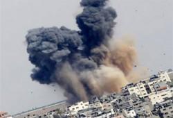 وقفة لنساء ضد الانقلاب بالخانكة تنديدًا بالعدوان على غزة