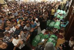 """وقفة أمام البرلمان السلوفاكي للتنديد بالعدوان على """"غزة"""""""