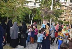 رحلة ترفيهية لإدخال السرور على أطفال شهداء ومعتقلي بورسعيد
