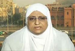 هدى عبد المنعم تُحمِّل سلطات الانقلاب مسئولية الحفاظ على حياة الشامي