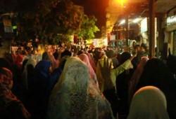مباشر.. مسيرة ليلية لثوار أسوان تطالب باسترداد الشرعية