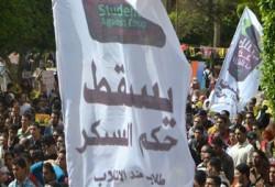 """طلاب المنوفية يجبرون الانقلابيين على الإفراج عن """"محمود جعفر"""""""