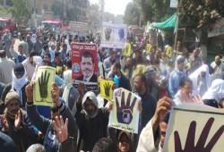 """10 مسيرات حاشدة بالمنيا في مليونية """"قاطع رئاسة الدم"""""""