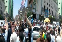 """بالصور.. احتشاد ثوار المطرية في بداية أسبوع """"قاطع رئاسة الدم"""""""