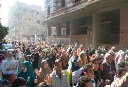 """مباشر.. مسيرتان بالزقازيق وبلبيس في جمعة """"قاطعوا رئاسة الدم"""""""