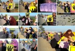 فيديو.. سلاسل صباحية لثوار الشرقية تندد بفشل الانقلاب وخرابه