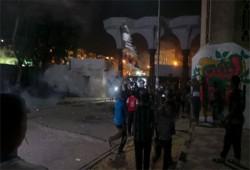 مظاهرة لطلاب الأزهر.. والانقلاب يهاجم المدينة الجامعية