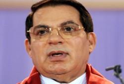 المؤبد لمخلوع تونس بن علي في قتل شهداء الثورة