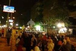"""مسيرة حاشدة تطوف شوارع """"المهندسين"""" تحديًا لقوات الانقلاب"""