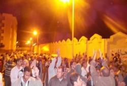 مسيرة ليلية بالعامرية بالإسكندرية تطالب بدحر الانقلاب الفاشي