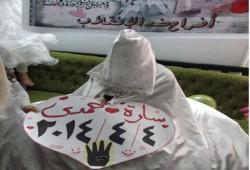 فرح ربعاوي ببورسعيد تيمنًا بتاريخ اليوم ورفضًا للانقلاب العسكري