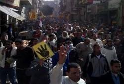 """صمود ثوار مدينة المنيا يجبر """"مليشيات الإنقلاب""""علي الهروب"""