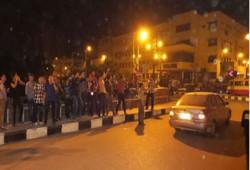 """بالفيديو.. وقفات """"فراشة"""" ومسيرة  بالدراجات البخارية بالزقازيق رفضًا للانقلاب"""