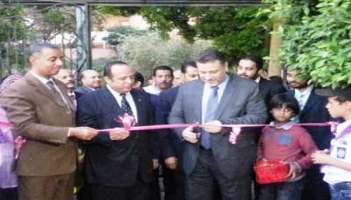 ياسين يفتتح أعمال التطوير بمركز شباب السيدة نفيسة