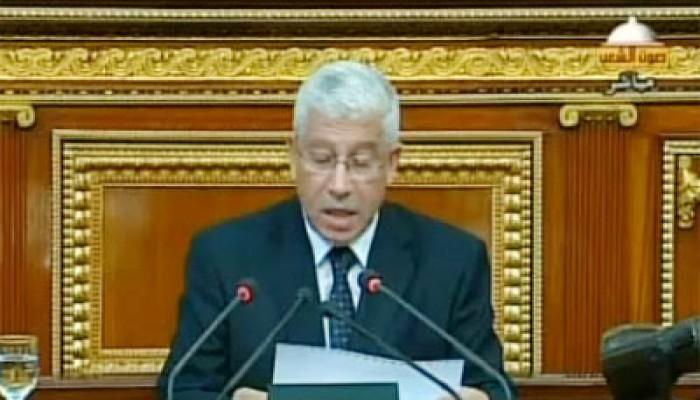 """بيان وزير المالية أمام """"الشورى"""" حول الموازنة الجديدة"""