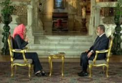 """الرئيس مرسي لـ""""الجزيرة"""": مصر ملك لأبنائها وثوارها عماد نهضتها"""