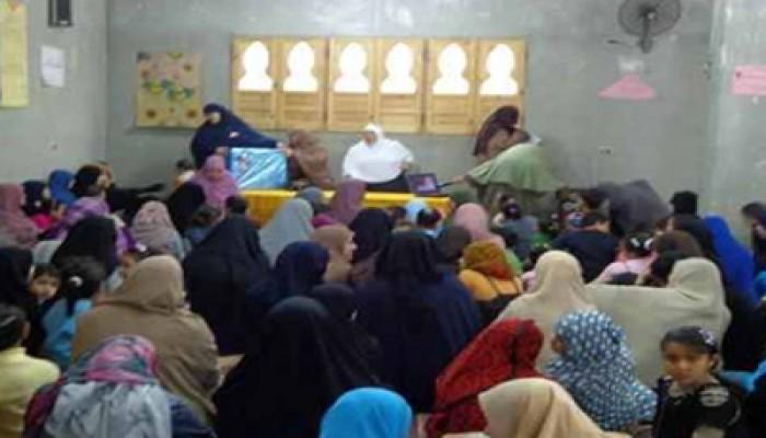 """""""الحرية والعدالة"""" بدمياط يواصل حفلات تكريم الأمهات"""