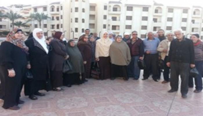 أمانة المرأة بالحرية والعدالة ببورسعيد تكرم المسنين