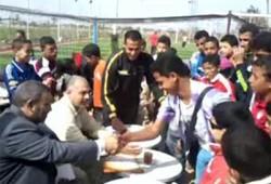 """ياسر حسانين يكرم فائزي دوري """"في حب مصر"""" بالشرقية"""
