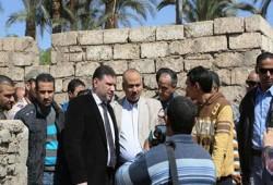 ياسين: لجنة تفتيش لفحص أعمال مركز شباب كوم العرب بسوهاج