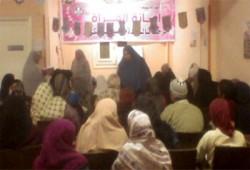 الأخوات المسلمات بسوهاج يحتفلن بذكرى الثورة والمولد النبوي