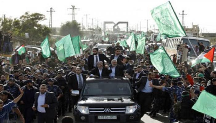 الحكومة الفلسطينية: الاحتشاد الكبير في مهرجان حماس يؤكد انتصار برنامج المقاومة