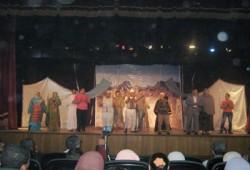 """""""كفر الأخضر"""" مسرحية فنية على مسرح قصر ثقافة الزقازيق"""